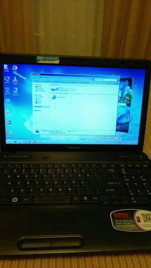 Laptop toshiba 500GB 4GB for Sale in Raleigh, NC