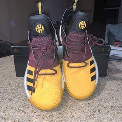 adidas Harden Vol. 2 Arizona State University Sz. 9.5M Thumbnail