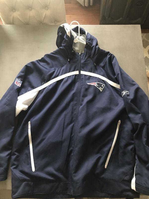 buy popular 264eb 1bc83 New England Patriots Sideline Jacket for Sale in Keller, TX - OfferUp