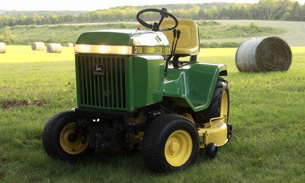 John Deere 318 >> John Deere 318 Garden Tractor With 50 Inch Mower Deck For Sale In