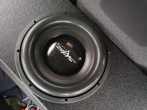 Skar audio evl-12 in a pro box with port made for low notes for Sale in Garland, TX