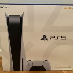 PS5 Disc Console BRAND NEW Thumbnail