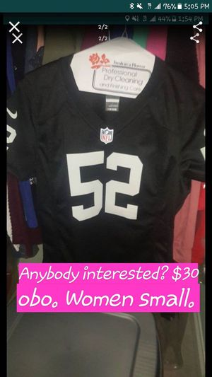 the best attitude 4dab0 5748e New and Used Raiders jersey for Sale in Long Beach, CA - OfferUp