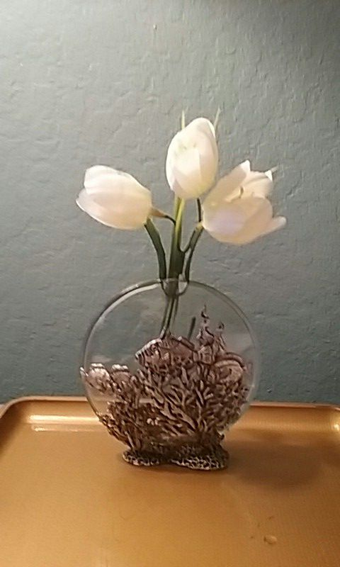 Daalderop Pewter 512 Inch Tall Bud Vase For Sale In Winston Salem