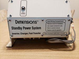 Dimensions 2000 watt inverter DC to AC for Sale in Bakersfield, CA