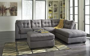 Grey Fabric Sectional Sofa for Sale in Parma Heights, OH
