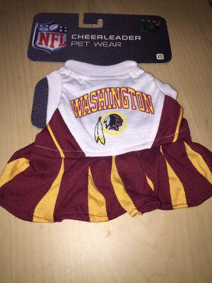 Washington redskin dog cheerleader costume size xs for Sale in Richmond, VA