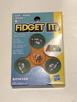 **RARE** Fidget Its Nintendo BOWSER Graphic Spinner Thumbnail