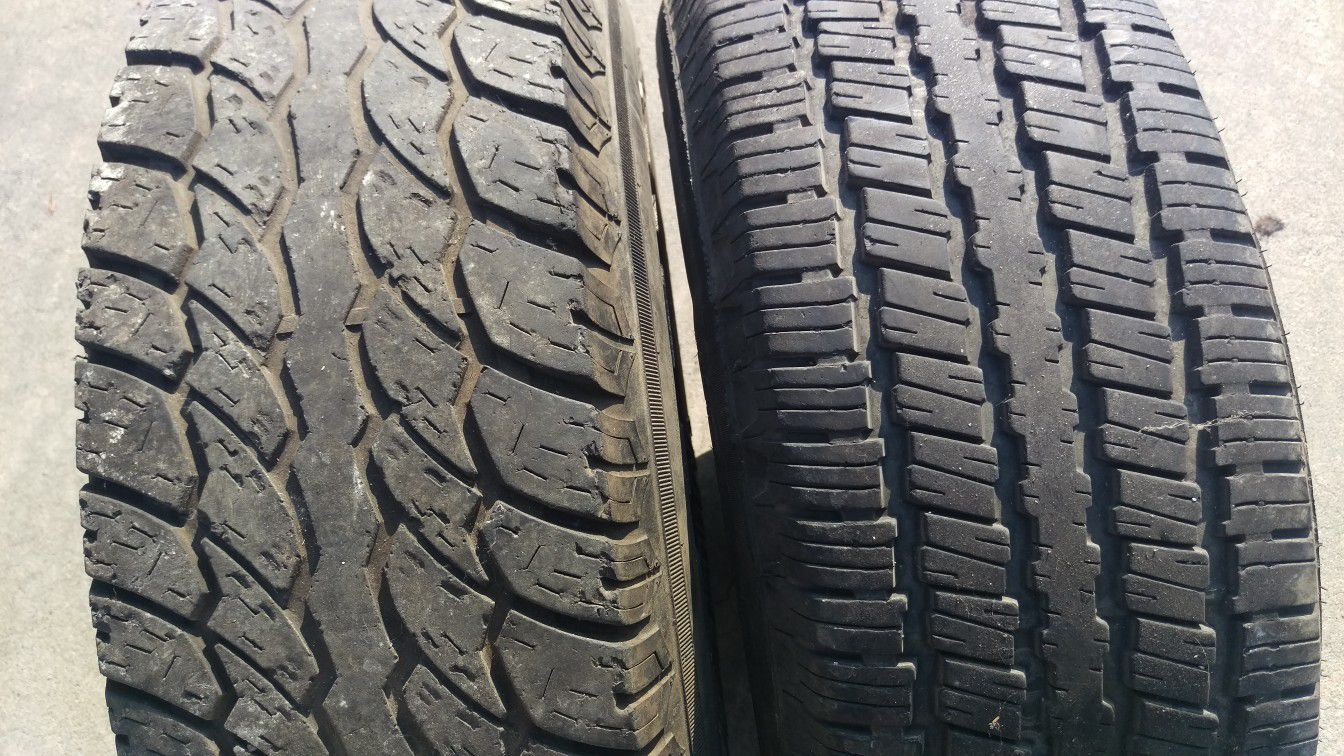 2 tires please check pictures