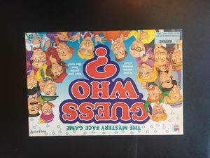Guess Who - Board Game for Sale in Arlington, VA