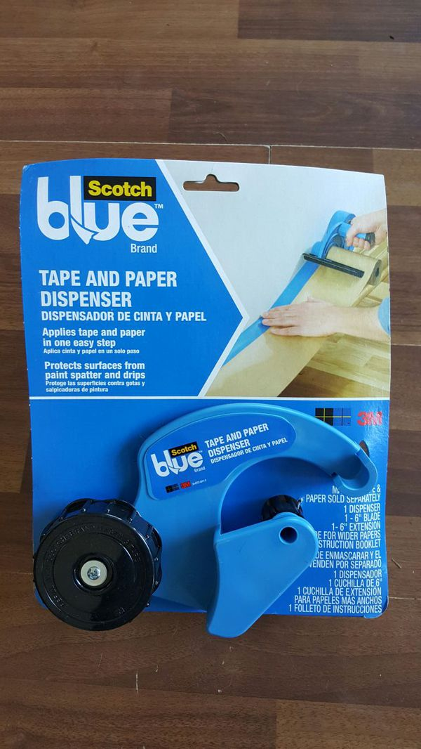 Scotch Tape And Paper Dispenser Painters Masker For Sale In Chehalis