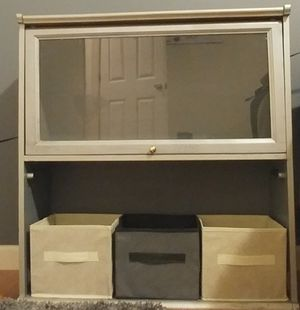 I have 2 Glass 2 shelf book storage for Sale in Fairfax, VA