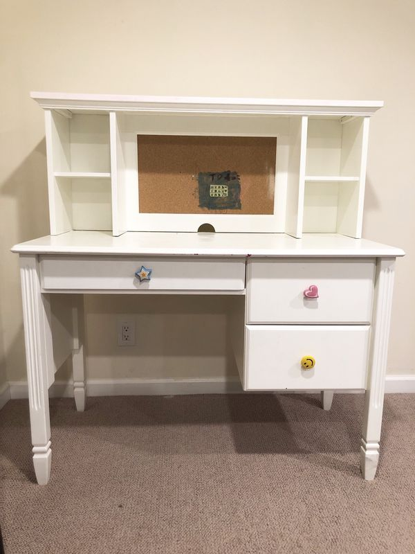 Pottery Barn Kids Madeline Storage Desk And Hutch For