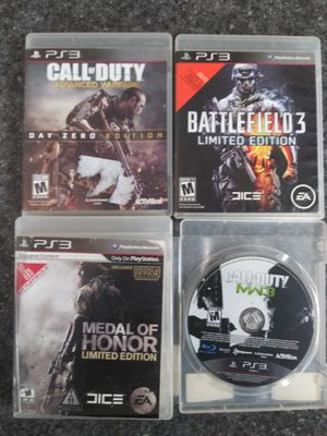 PS3 War Games Bundle for Sale in Washington, DC