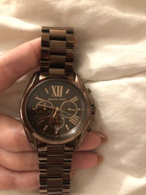 Micheal Kors rose chocolate watch for Sale in Arlington, VA