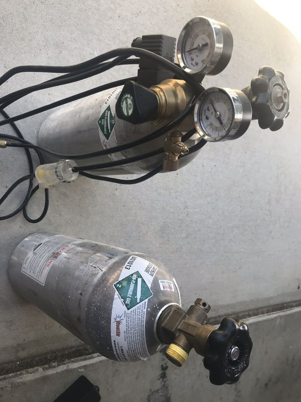 CO2 tanks with CO2 valve included for planted freshwater aquarium for Sale  in Chula Vista, CA - OfferUp