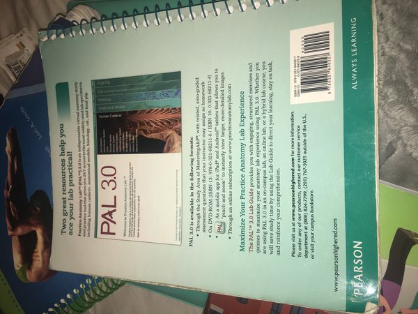 Pal 30 Practice Anatomy Lab Lab Guide For Sale In North Miami