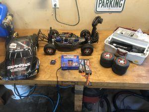 Photo Traxxas Slash 4x4 VXL Brushless RC Car