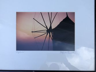 Two original photo art pieces signed by artist Thumbnail
