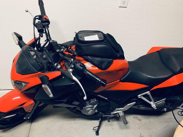 Motorcycle honda cb300