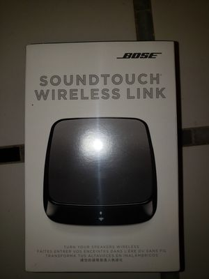 Bose sound touch wireless link for Sale in Alexandria, VA
