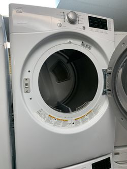 LG FRONT LOAD WASHER AND KENMORE ELECTRIC DRYER SET IN EXCELLENT CONDITION Thumbnail