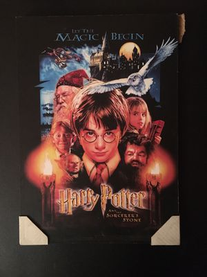 Harry Potter Movie Poster Picture for Sale in Chantilly, VA