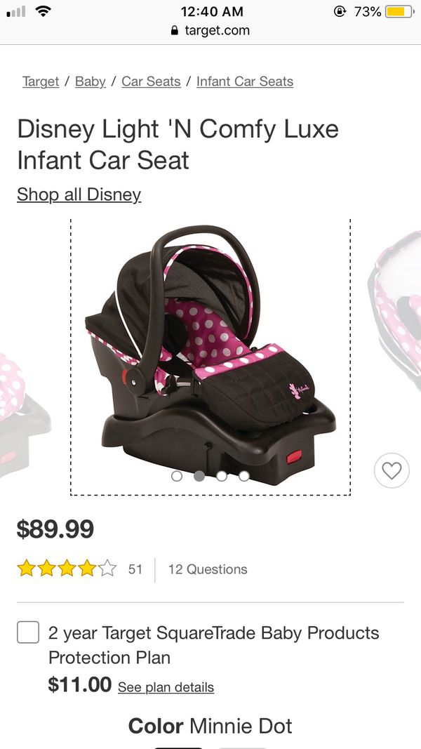 Disney Minnie Mouse Infant Car Seat For Sale In Kyle TX