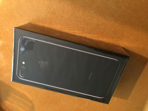 iPhone 7 Plus 128gb (brand new sealed unopened) jet black for Sale in San Francisco, CA