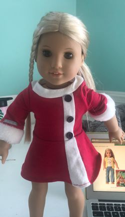 Authentic Julie American Girl doll Julie Dress and hair tie included! Thumbnail