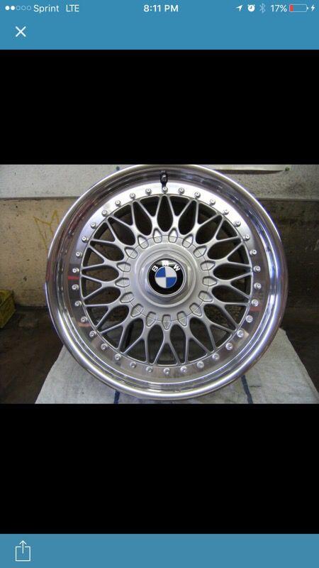 BMW 2 Piece 5 Series Alloy Rims (4) 1997-2000
