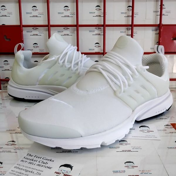 purchase cheap d3844 dfee1 Nike Air Presto All White Men s Shoes Size 13 Brand New