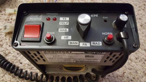Whelen 295HFSA1 Siren Amp for Sale in Decatur, GA - OfferUp