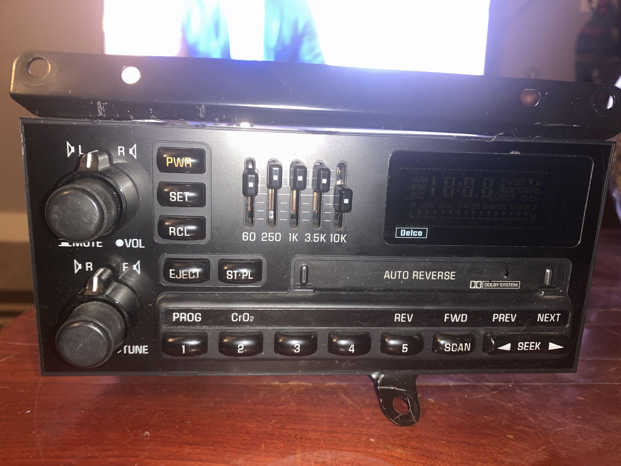 1992 Radio Double Din