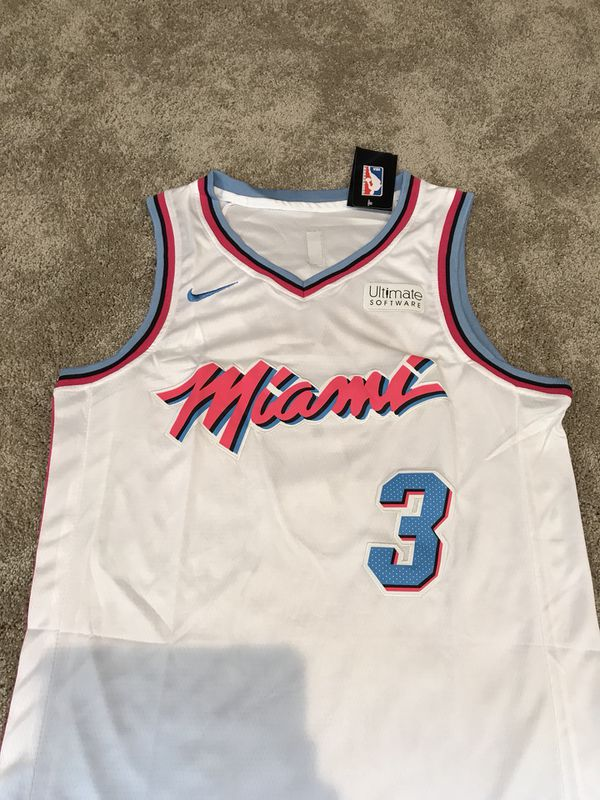 Dwyane Wade Miami Vice Heat Jersey NWT for Sale in New Albany 3a1020174