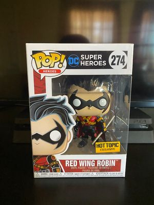 Photo Red Wing Robin Hot Topic Exclusive Funko Pop