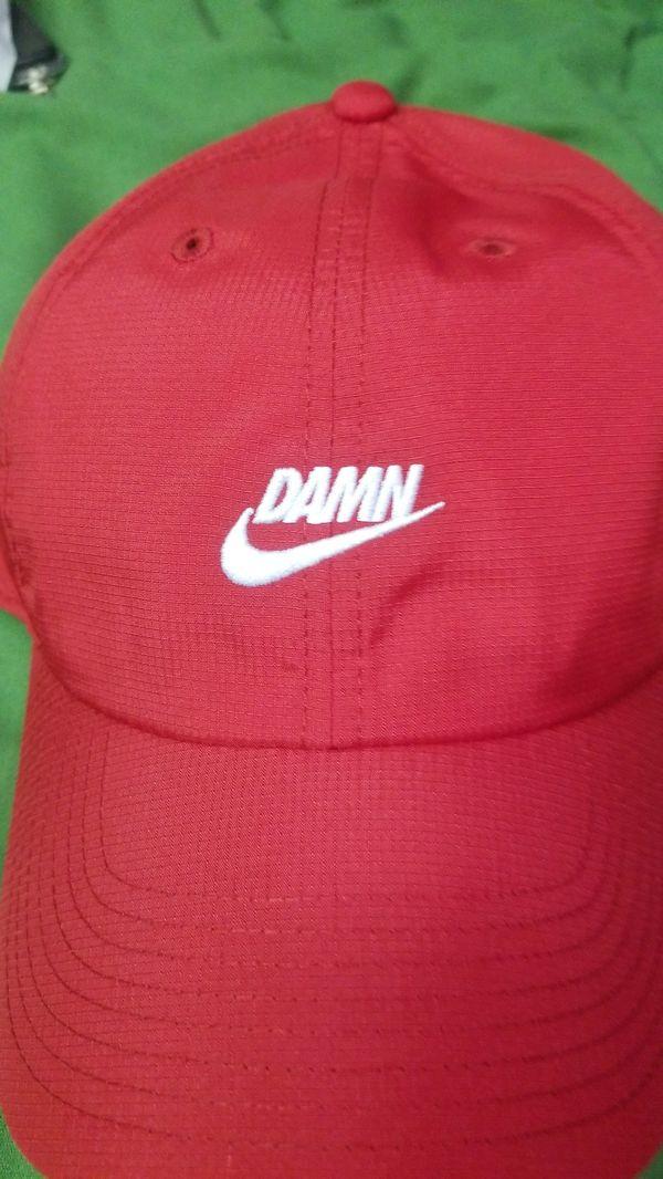 a345b43c61a1a Nike x TDE Red DAMN hat for Sale in Long Beach