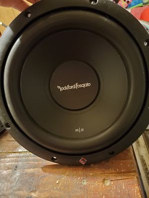 Photo Rockford fosgate p2 10 inch subs