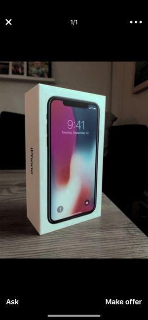 iPhone X at&t for Sale in Hanover, MD
