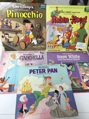 Disney Vinyl Records Collection for Sale in Fairfax, VA
