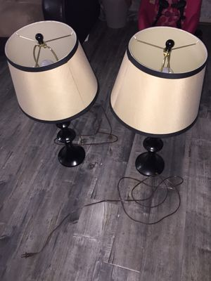 2 Lamps for Sale in Laveen Village, AZ