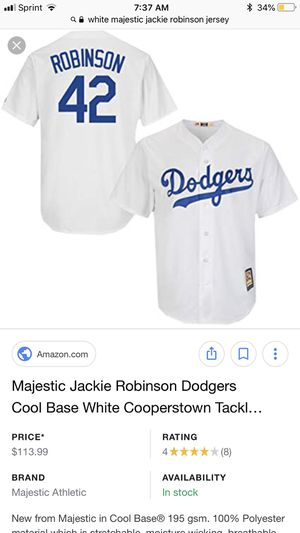 The 42 Jackie Robinson story (CDs   DVDs) in San Jose 33845fbaed3