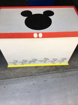 Disney toy chest and posters for Sale in Sanford, FL