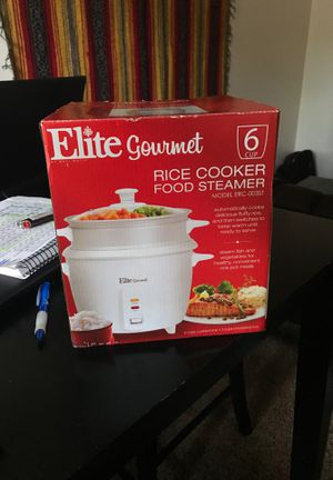 Photo Elite gourmet rice cooker and food steamer