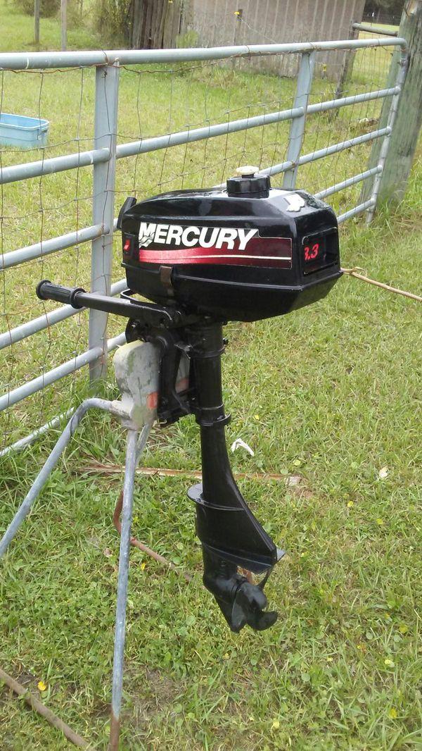 Mercury 3 3 hp out board motor for Sale in Jacksonville, FL - OfferUp