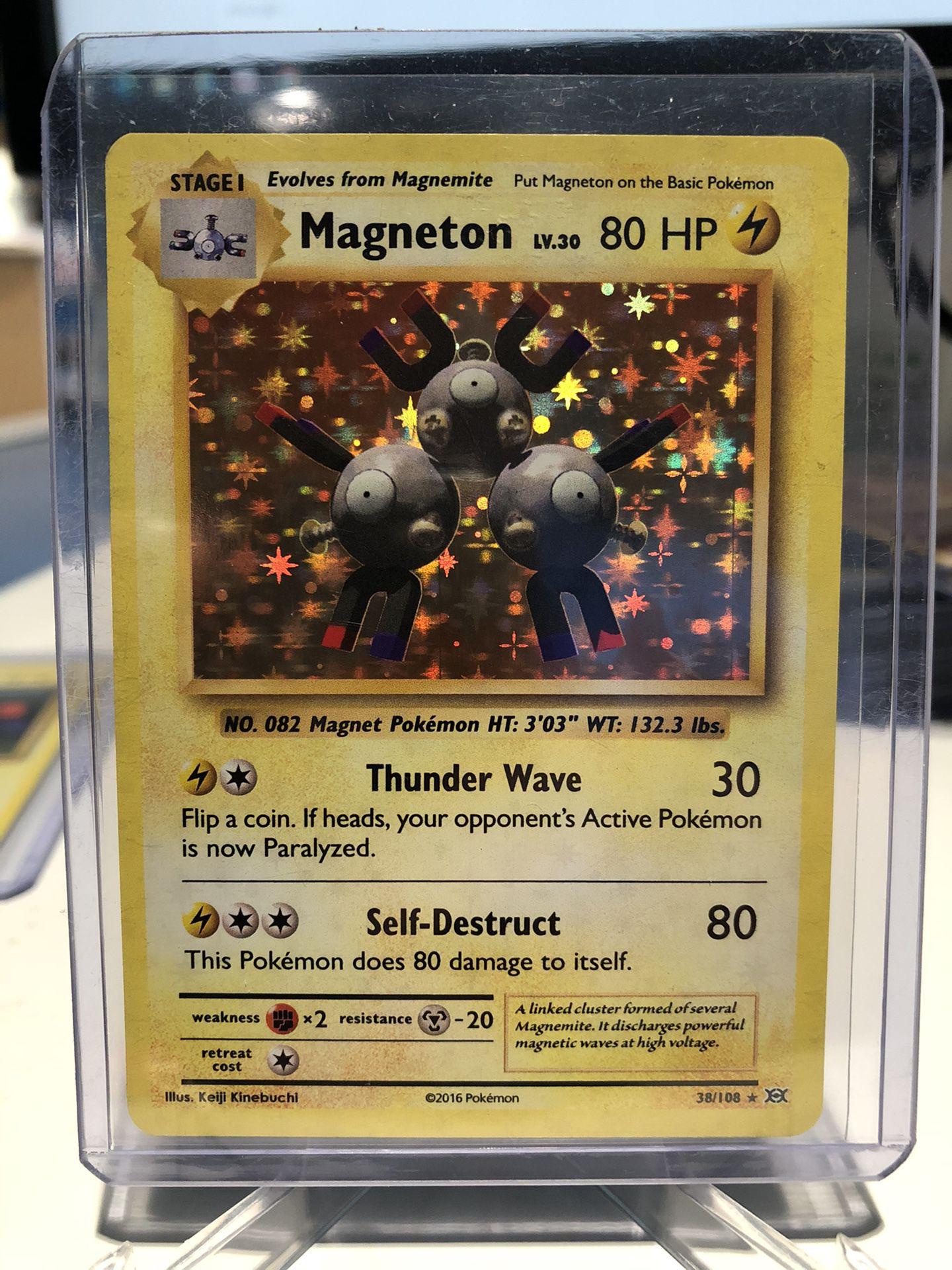 Magnemite & Magneton