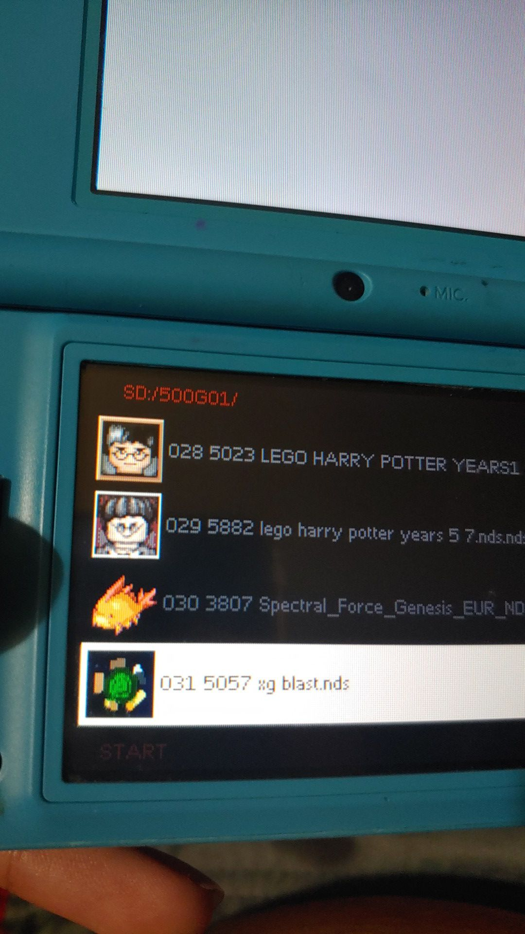 500 in 1 ds, games