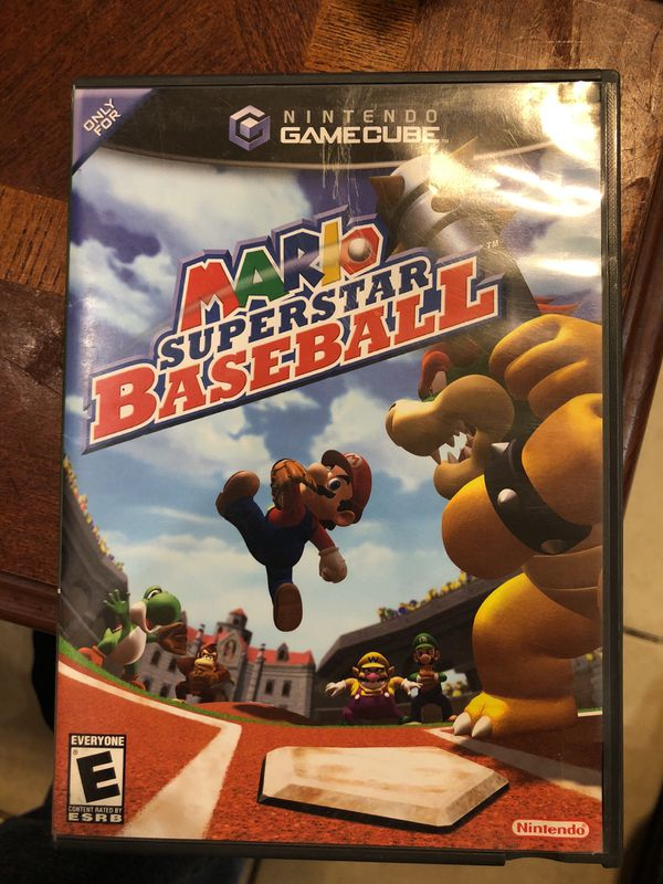mario superstar baseball gamecube