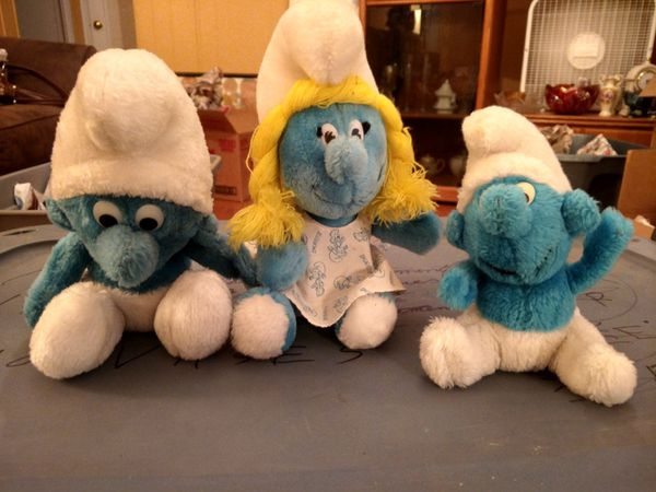 Vintage Smurf Dolls Toy Collectable For Sale In Pueblo Co Offerup