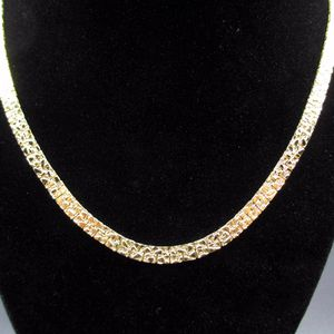 Vintage 18 Inch Golden Nuggets Style Chain Necklace Unique Costume Jewelry Fashion Statement Wedding Bohemian Elegant Bridal Cute Cool Sexy for Sale in Everett, WA